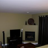 Fireplace (select suites)