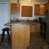 Stainless appliances (select suites)