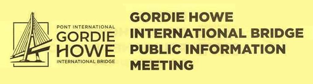 Gordie Howe International Bridge Community Event Header
