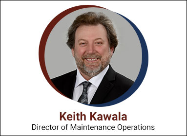 Keith Kawala, Director of Maintenance Operations